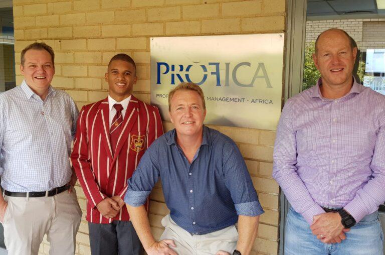 Profica continues the legacy by awarding university bursary to KES Old Boy.