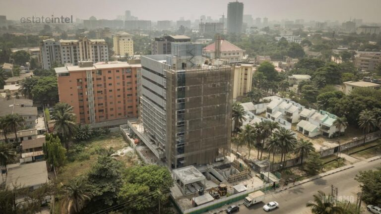 A new addition to the Lagos cityscape