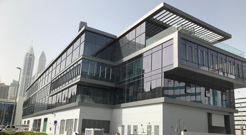 Dubai – superb fit out of MEA headquarters for global financial services company