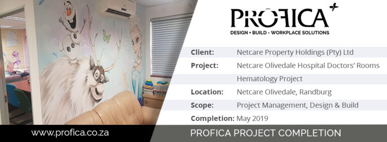 Just what the doctors ordered! Profica Design & Build delivers practitioner suites for Netcare