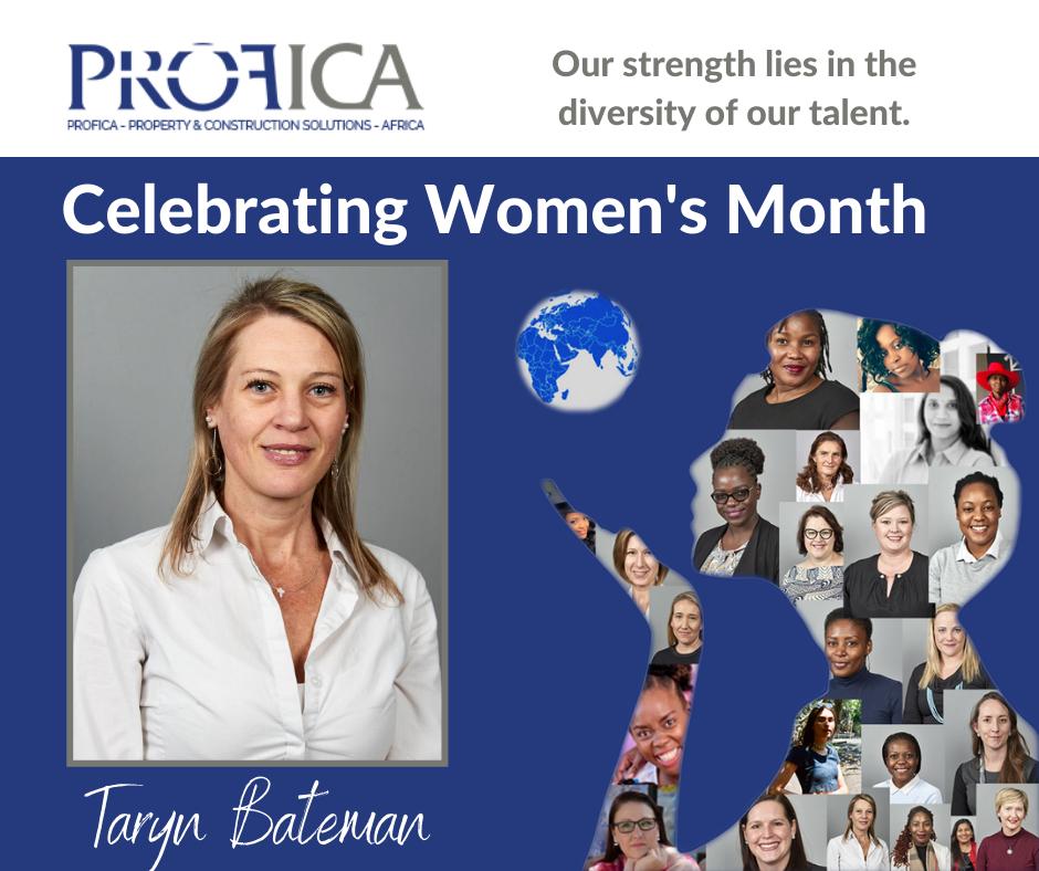 Women's Month 2020: Learning about Taryn Bateman